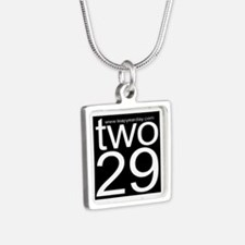 two29 Silver Square Necklace