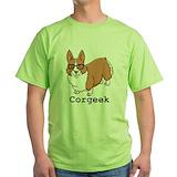 Corgi Green T-Shirt