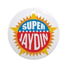 Super Jaydin Ornament (Round)