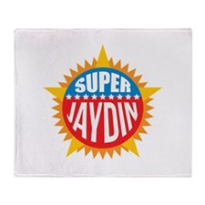 Super Jaydin Throw Blanket