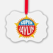 Super Jaylin Ornament