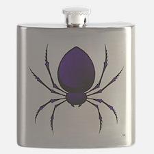 Black Spider Flask