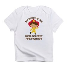 Firefighter Daddy (Worlds Best) Infant T-Shirt