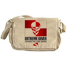 Extreme Diver (Skull) Messenger Bag