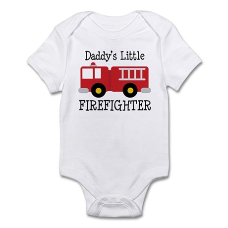 Daddy's Little Firefighter Infant Bodysuit