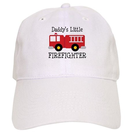 Daddy's Little Firefighter Cap