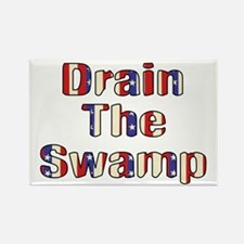 Drain The Swamp: Phase Two Rectangle Magnet