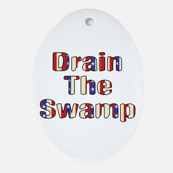 Drain The Swamp: Phase Two Oval Ornament