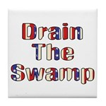 Drain The Swamp: Phase Two Tile Coaster