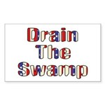 Drain The Swamp: Phase Two Rectangle Sticker