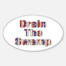 Drain The Swamp: Phase Two Oval Decal