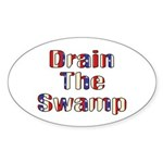 Drain The Swamp: Phase Two Oval Sticker