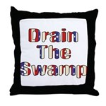 Drain The Swamp: Phase Two Throw Pillow