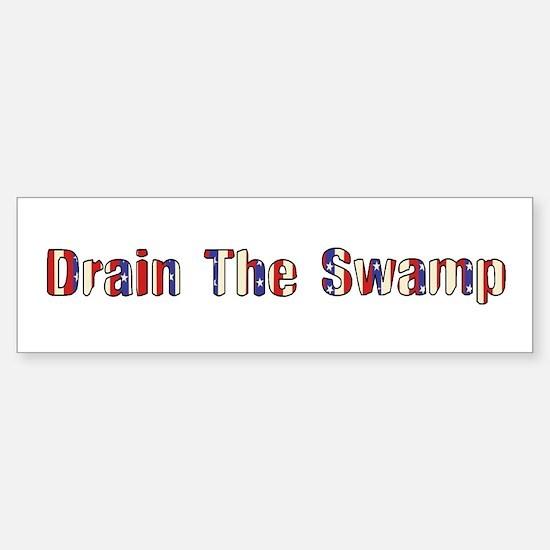 Drain The Swamp: Phase Two Bumper Bumper Bumper Sticker