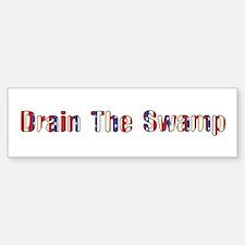 Drain The Swamp: Phase Two Bumper Car Car Sticker