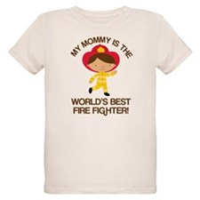 Firefighter Mommy (Worlds Best) T-Shirt