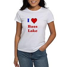 i love bass lake T-Shirt