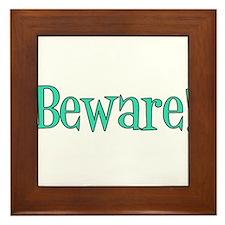 Danny Phantom, Beware! Framed Tile