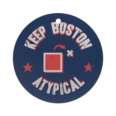 Boston Atypical II Ornament (Round)