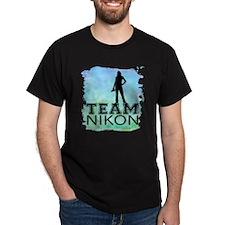 team Nikon watercolor T-Shirt