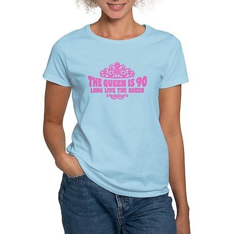 Funny 90th Birthday Women's Light T-Shirt