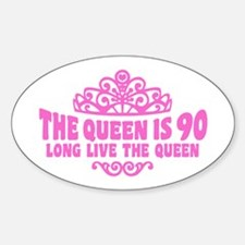 Funny 90th Birthday Decal