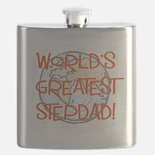 World's Greatest Stepdad Flask