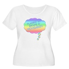 PLANNING MY ESCAPE IN NOVEMBER Plus Size T-Shirt