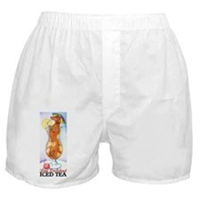 Long Dachshund Iced Tea Boxer Shorts