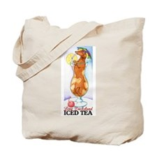 Long Dachshund Iced Tea Tote Bag