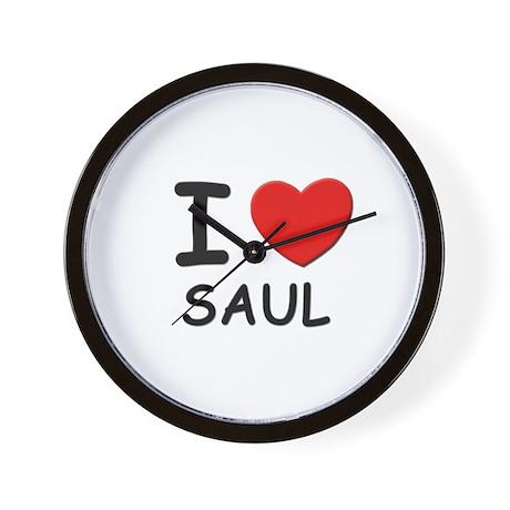 I love Saul Wall Clock