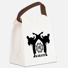 KARATE keri 4 Canvas Lunch Bag