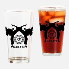 KARATE keri 4 Drinking Glass