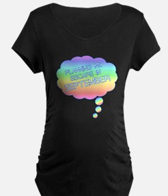 PLANNING MY ESCAPE IN SEPTEMBER Maternity T-Shirt