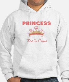PRINCESS DUE IN AUGUST Hoodie