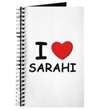 I love Sarahi Journal