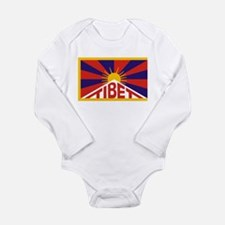Tibet Flag Body Suit