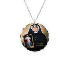 Saint Faustina Apostle of Divine Mercy Necklace
