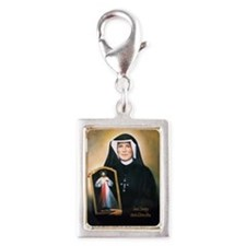 Saint Faustina Apostle of Divine Mercy Silver Port