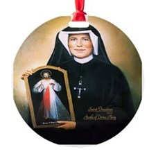 Saint Faustina Apostle of Divine Mercy Ornament