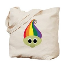 Rainbow Troll Tote Bag