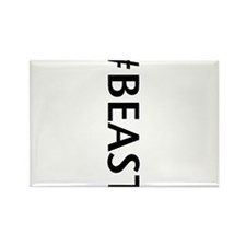 #BEAST Rectangle Magnet (10 pack)