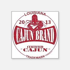 Cajun Brand Sticker