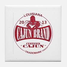 Cajun Brand Tile Coaster