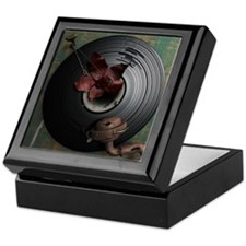 record art keepsake box