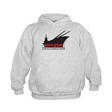 Battleship Pretension Logo Hoodie