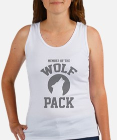 Member Of The Wolf Pack Women's Tank Top