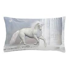 White Unicorn 2 Pillow Case
