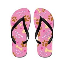 Maltipom Mom Gift Flip Flops