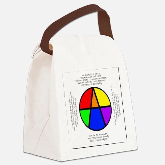 I Am An Ally Canvas Lunch Bag
